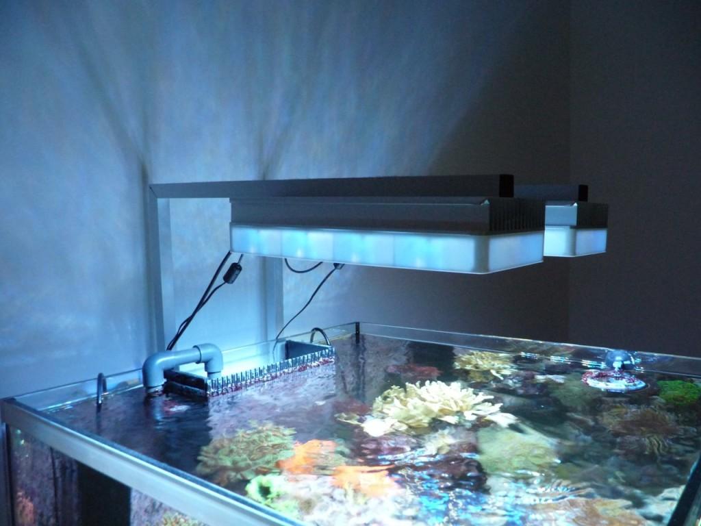 AI Sol Lampenhalterung - Seitenansicht