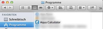 AquaCalculator-Programme